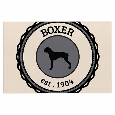 Boxer Dogs Decorative Doormat