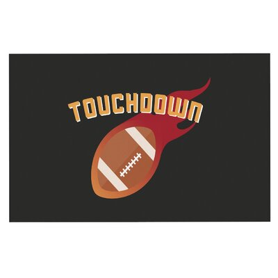 Touchdown XLVI Sports Football Decorative Doormat