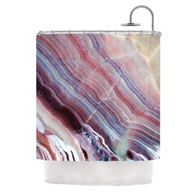 Sunrise Agate Shower Curtain