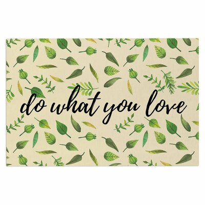 Do What You Love Doormat