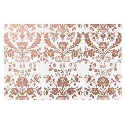 'Baroque' Doormat Color: Rose Gold