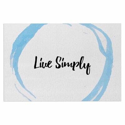 Live Simply Doormat