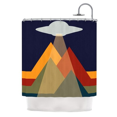 Abduct Me Fantasy Shower Curtain