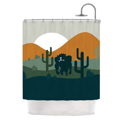 Cyclops Fantasy Creature Shower Curtain