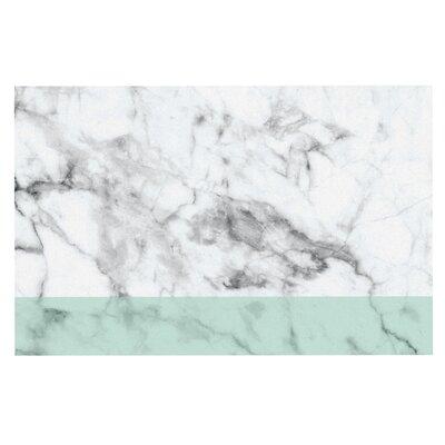 Mint Marble Fade Doormat