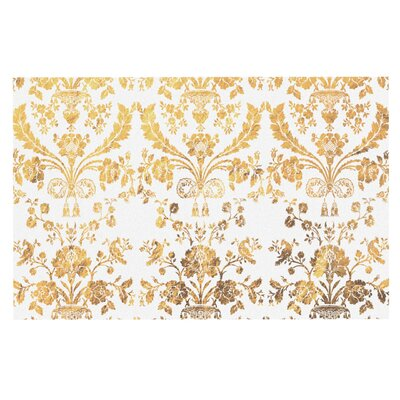 Baroque Doormat Color: Gold