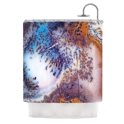 Snow Agate Shower Curtain