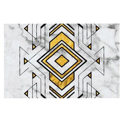 Geo Marble Graphic Tribal Decorative Doormat