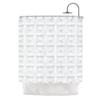 Palace Ceiling Tiles Shower Curtain
