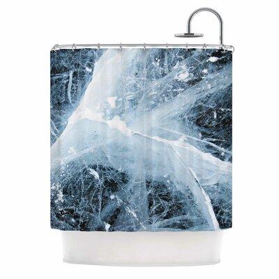 Deep Winter Shower Curtain