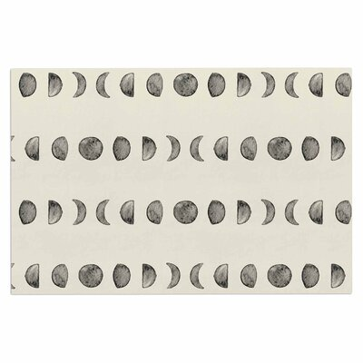 Phases of the Moon Doormat