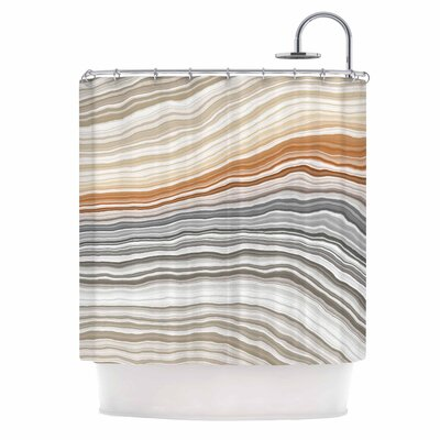 Vernal Pools Shower Curtain