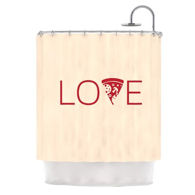 Slice of Love Shower Curtain