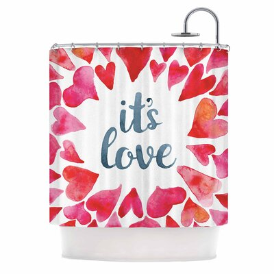ItS Love Shower Curtain