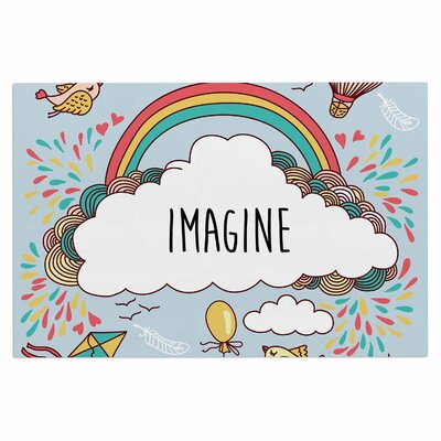Imagine Fantasy Illustration Decorative Doormat