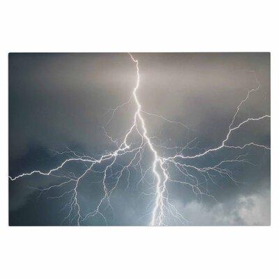 Lightning Storm Doormat
