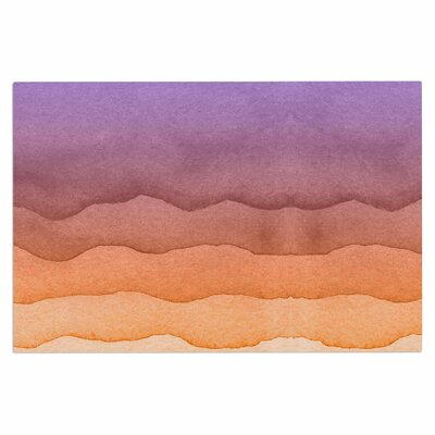 Ombre Doormat Color: Orange