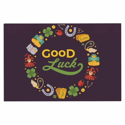 Good Luck! Doormat