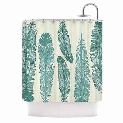 Balsam Feathers Shower Curtain
