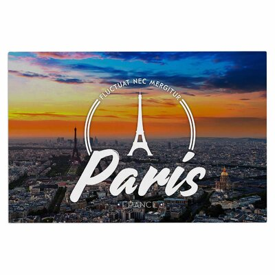 Paris Travel Decorative Doormat