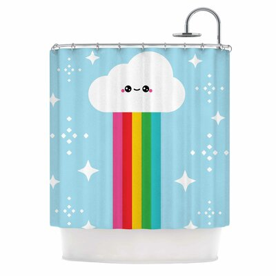 Mr. Rainbow Kids Shower Curtain