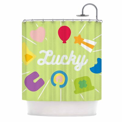 'Lucky' Shower Curtain