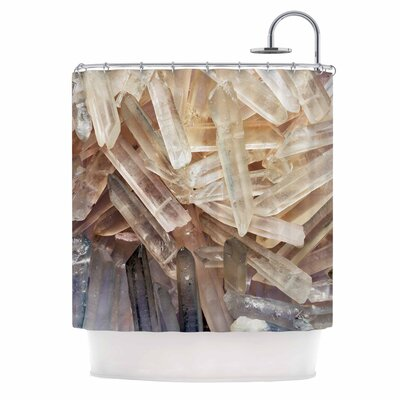 Crystal Cluster Shower Curtain