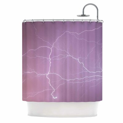 Pastel Lightning Shower Curtain