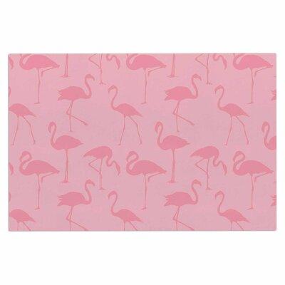 Illustration Decorative Doormat Color: Pink