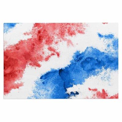 Patriotic Watercolor Doormat