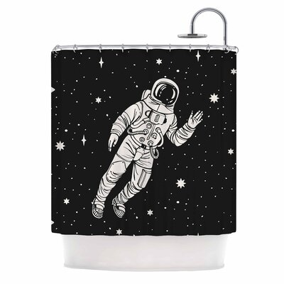 Space Adventurer Fantasy Shower Curtain