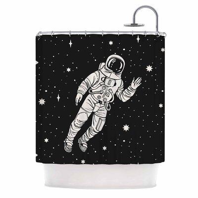 Space Adventurer Fantasy Shower Curtain