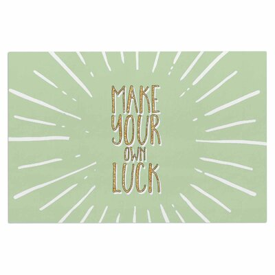 Make Your Own Luck Doormat