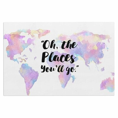 The Places Youll Go Doormat
