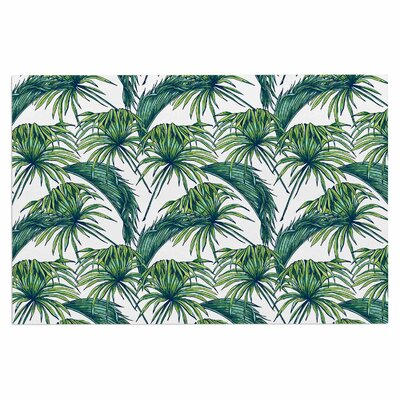 Palmtastic Doormat Color: Green