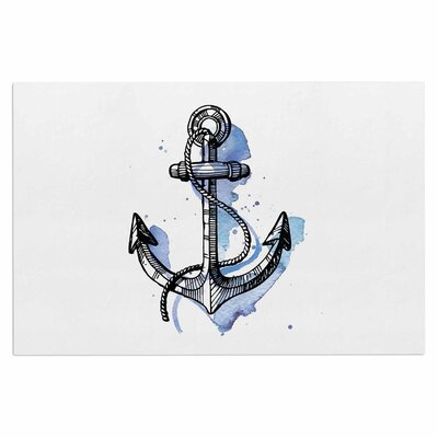 Anchor Watercolor Doormat