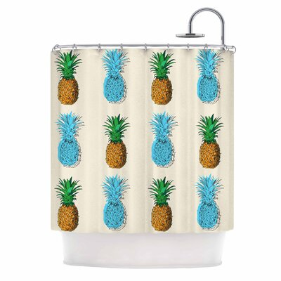 Fineapple Food Shower Curtain