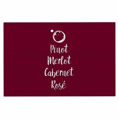 Pinot, Merlot, Cabernet, Rose Doormat