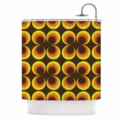 Owl Eye Vintage Shower Curtain