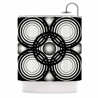 Mono Geo Shower Curtain