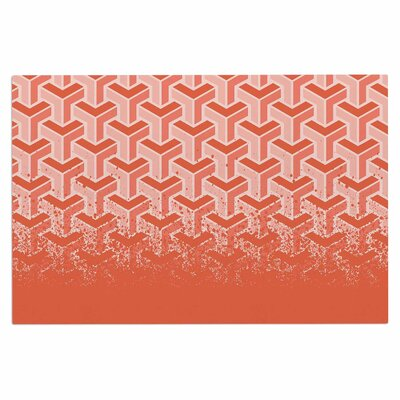 No Yard Coral Urban Decorative Doormat
