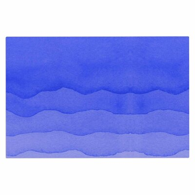 Ombre Doormat Color: Berry Blue