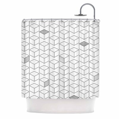 Shade Cubed Shower Curtain