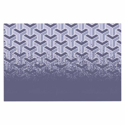 No Yard Vector Decorative Doormat Color: Purple