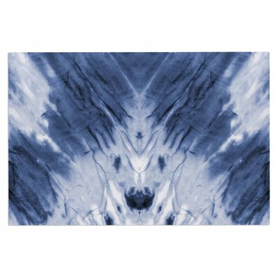Blue Dye Doormat