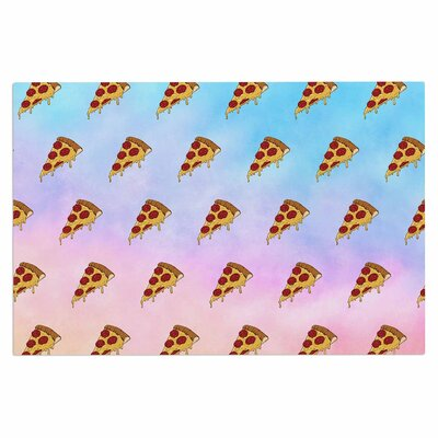 Lucid Pizza Food Decorative Doormat