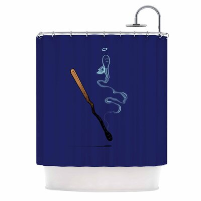 Matches Fantasy Shower Curtain