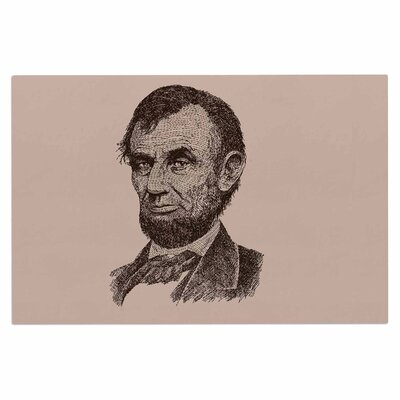 Abraham Lincoln Vintage Decorative Doormat