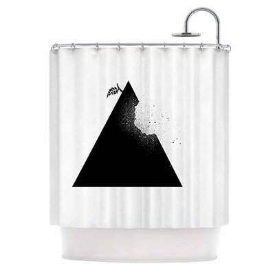 Apple Pyramid Shower Curtain
