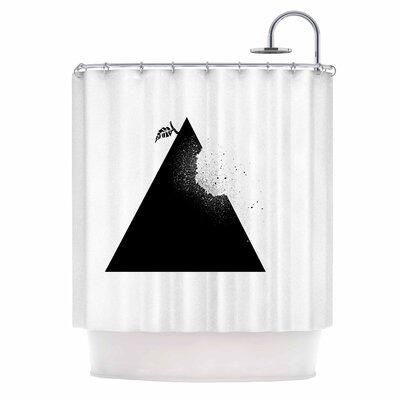 Apple Pyramid Shower Curtain